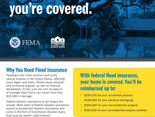 Most Homeowners Insurance Does Not Cover Flooding