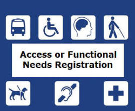 Functional Needs Registration