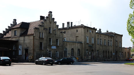 Dworzec kolejowy Dzierzoniow ul Sienkiewicza