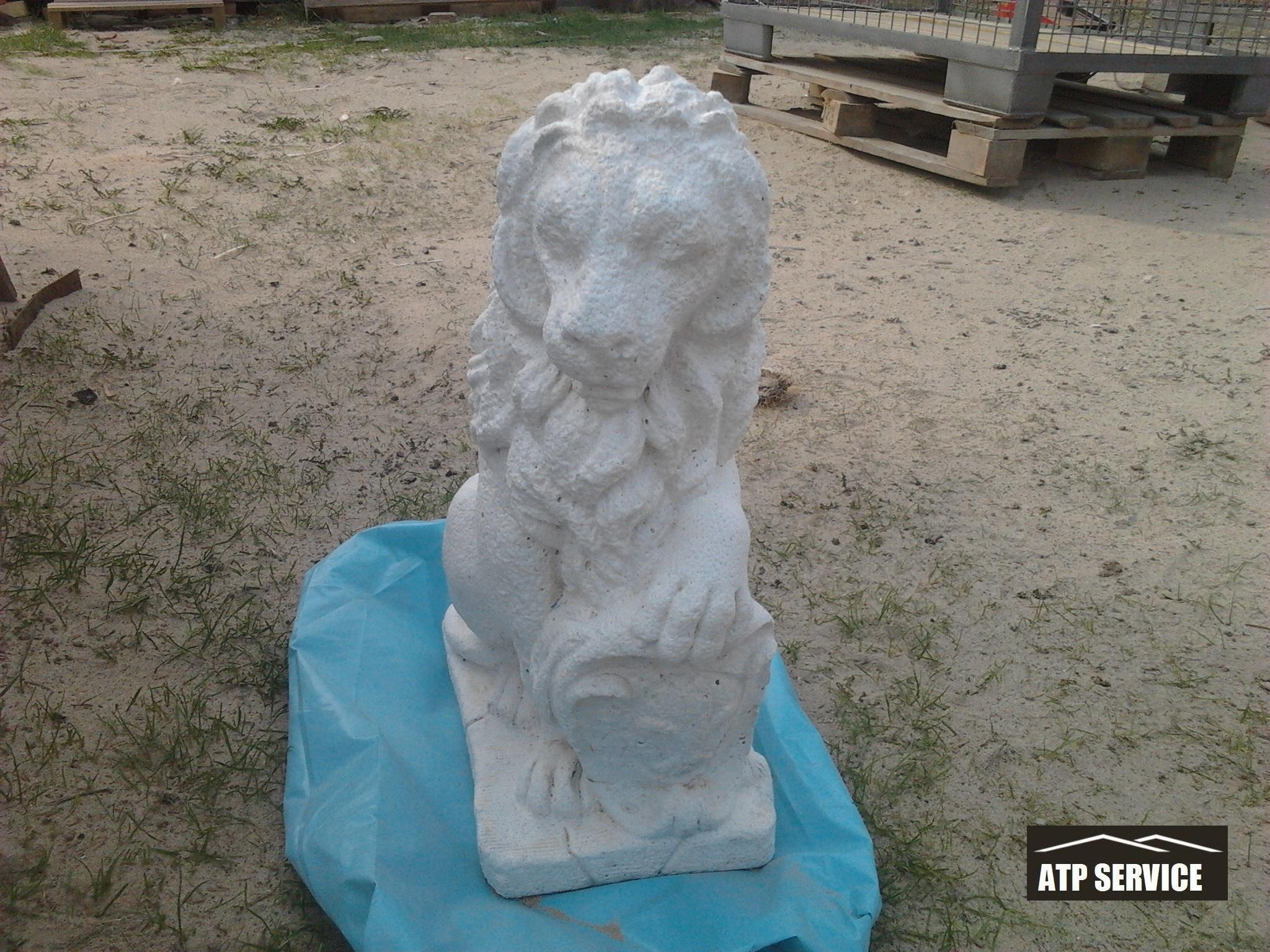 piaskowanie rzeźby