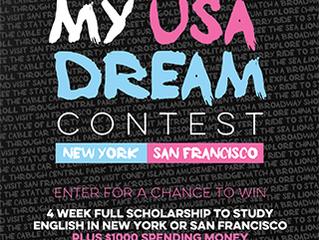 ¡Gana una beca de 4 semanas para estudiar en New York ó San Francisco!