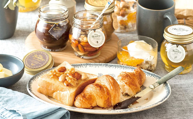 my honey breakfast spread (official)