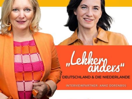 Dorenbos Connect im Gespräch mit Anouk Ellen Susan vom Podcast 'LEKKER anders'