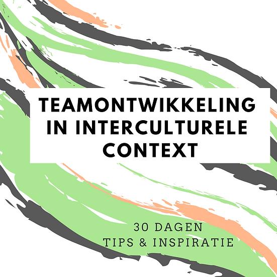 Teamontwikkeling in interculturele context