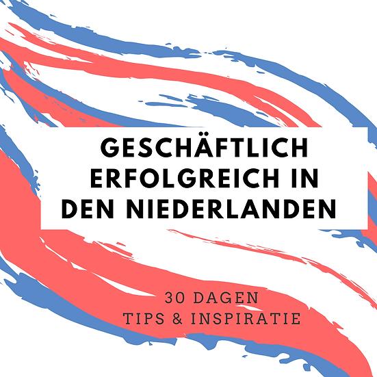 Geschäftlich erfolgreich in den Niederlanden