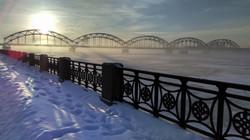 Riga's beautiful city view
