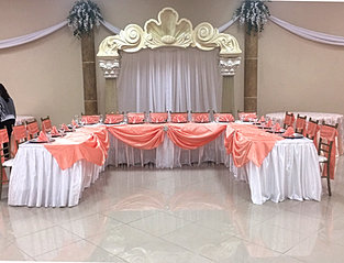 Quinceanera main table decorations