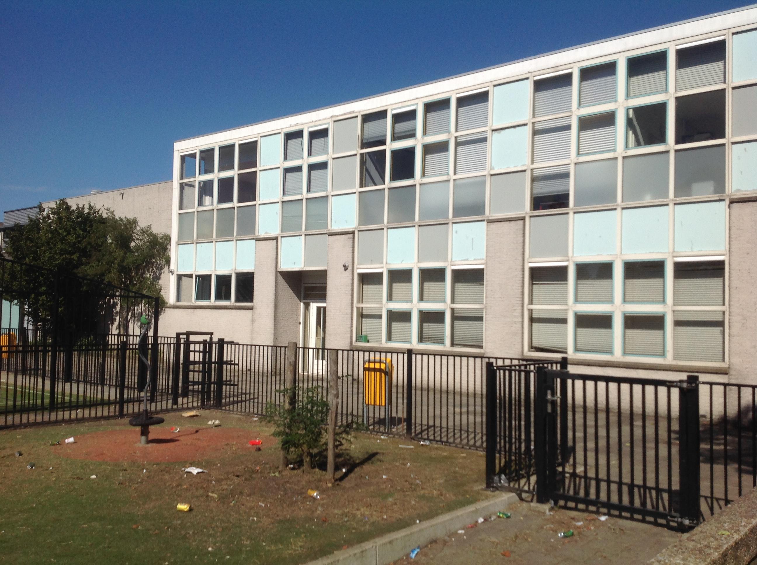 Gevelwijziging schoolgebouw
