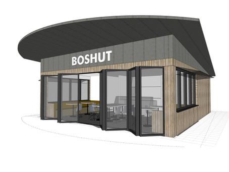 Nieuwbouw Horecapaviljoen de Boshut