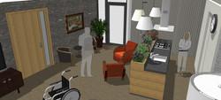 huiskamer psycho-geriatrie