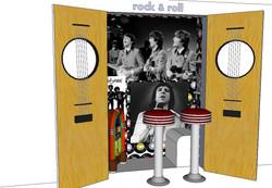 Tektor Tableau vivant Rock & Roll