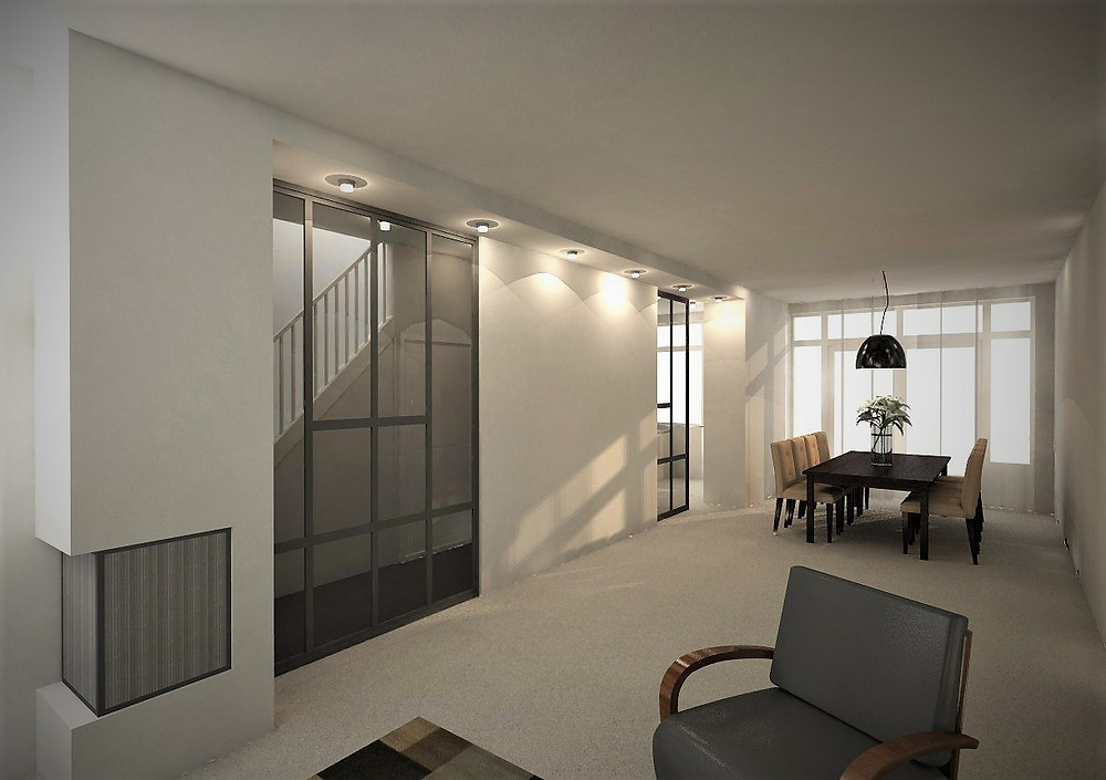 interieurontwerp woonhuis den haag