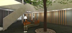 Ontwerp Helen Dowling Instituut wood