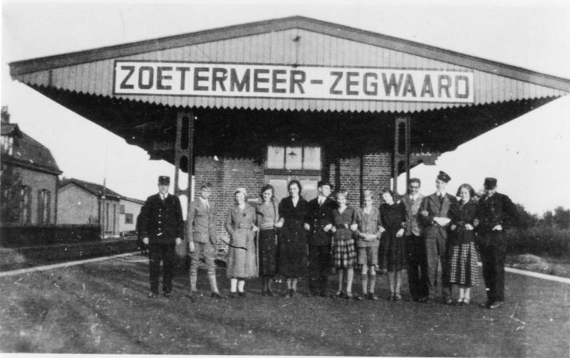 1950- Station Zoetermeer Zegwaard
