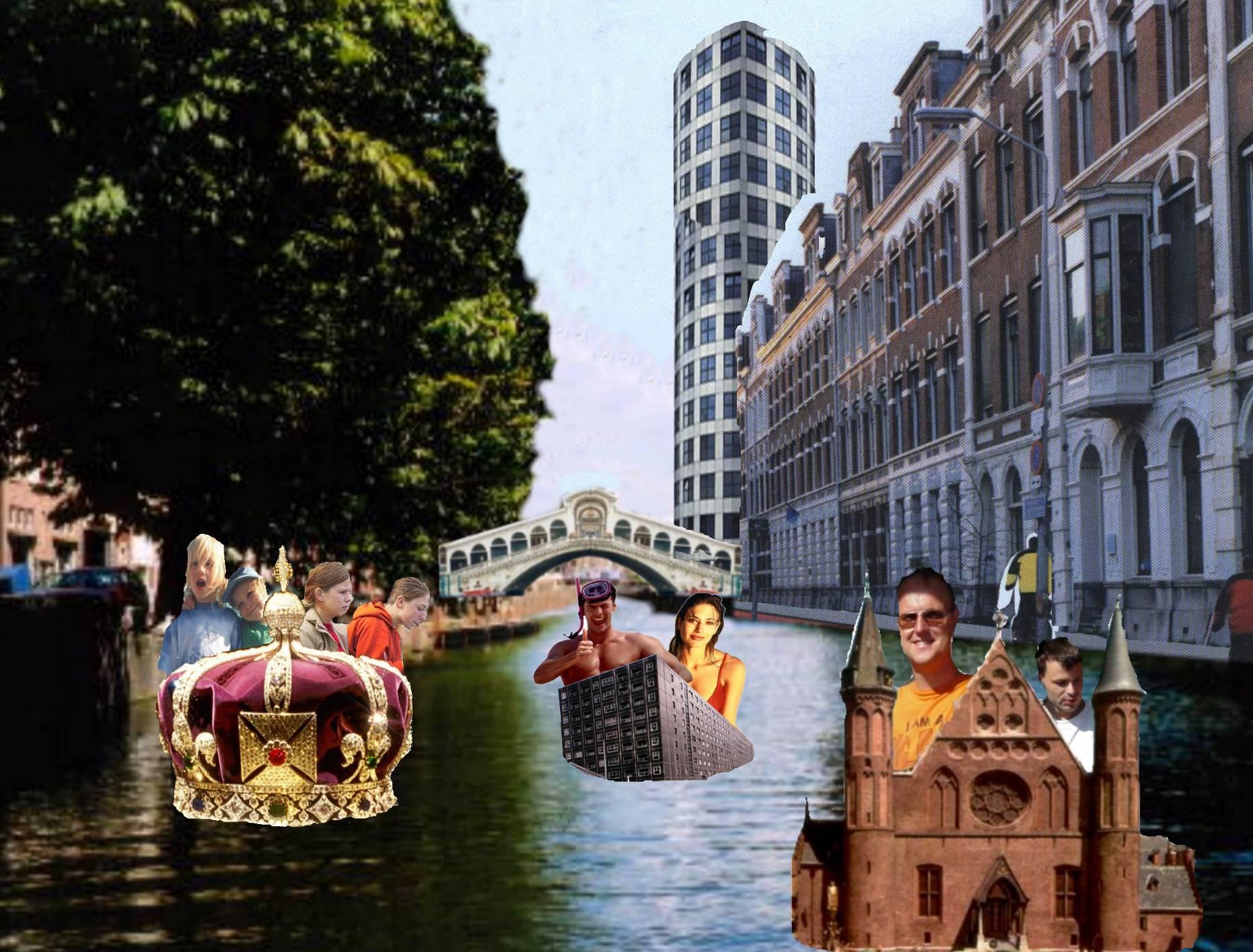 Madurodambootjes raamweg