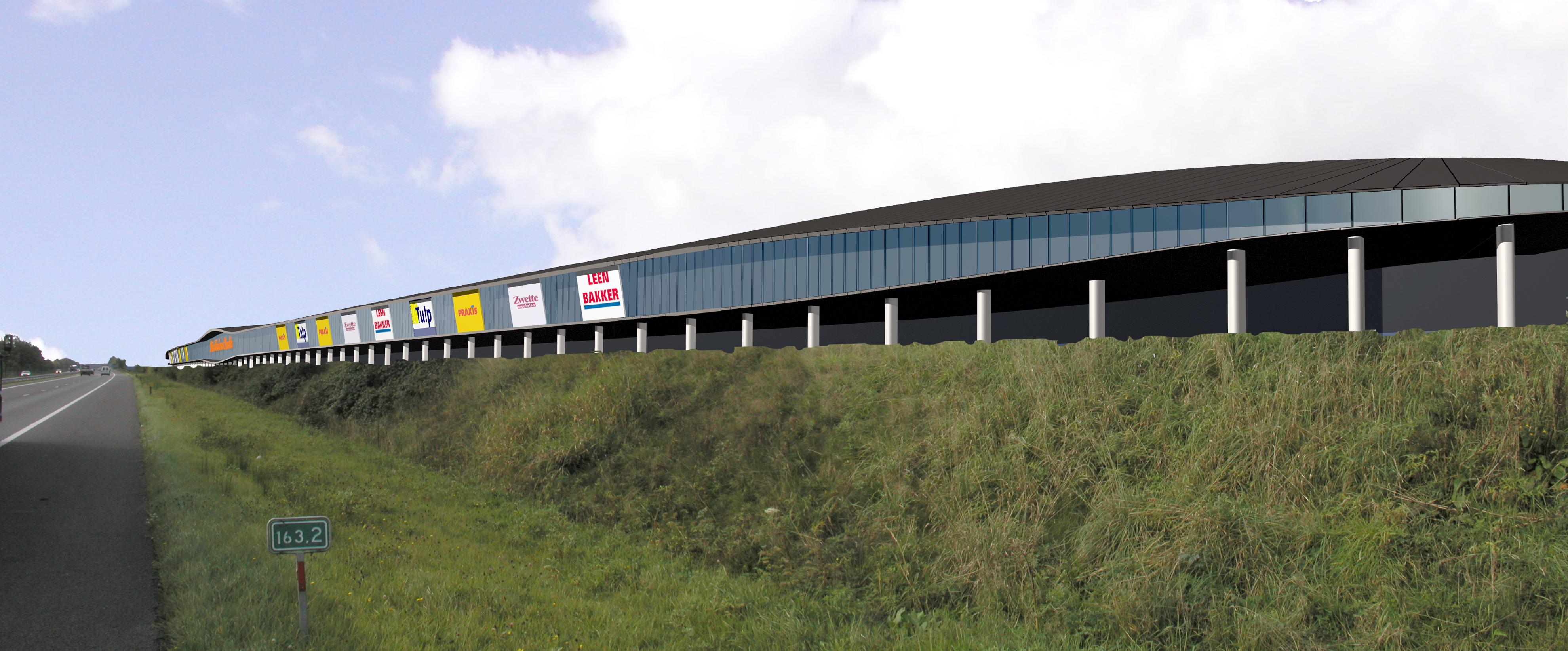 Uitbreiding winkelcentrum Smallingerland