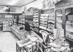 winkelinterieur jaren 50