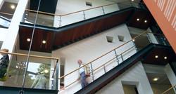 Nieuwbouw La Gro trappenhuis