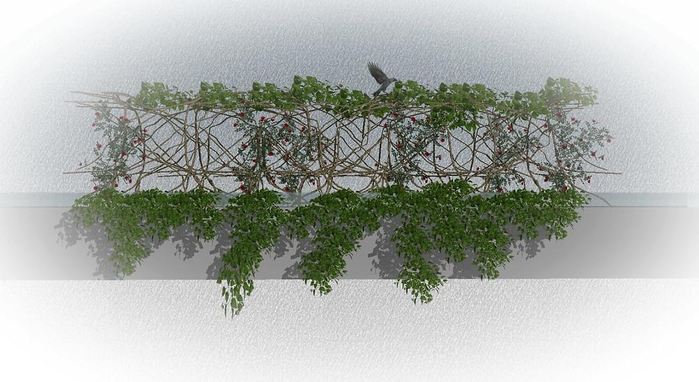 Adelaarsnest op brug