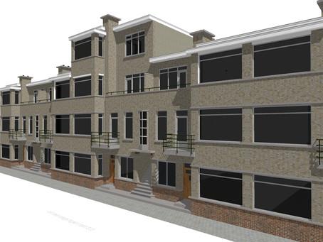 Visualisatie dakopbouw Den Haag