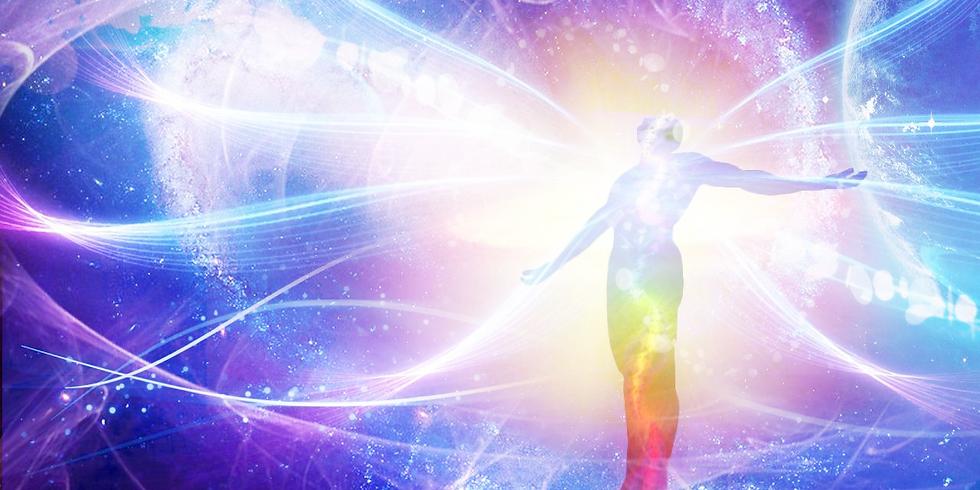 Онлайн встреча  «Активация квантового измерения, встреча с владыками кармы и чтение книги судьбы»