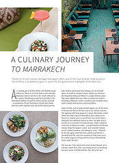 13. A culinary journey to Marrakech Epic