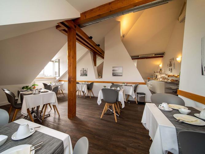 Hotel Spalentor Basel 401 Hotel Frühstücksraum hotel breakfast room Hotel salle de petit d