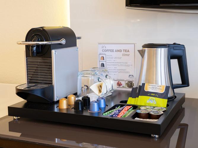 Hotel Spalentor Basel 1401 Hotel Nespresso Kaffee- und Teestation Hotel Nespresso coffee a