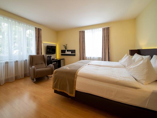Hotel Spalentor Basel 012 Hotel Einzelzimmer Komfort hotel single room comfort hôtel chamb