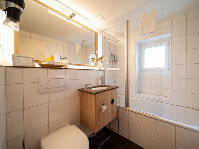 Hotel Spalentor Basel 1203 Komfort Einzelzimmer Badezimmer Comfort Single Room Bathroom ch