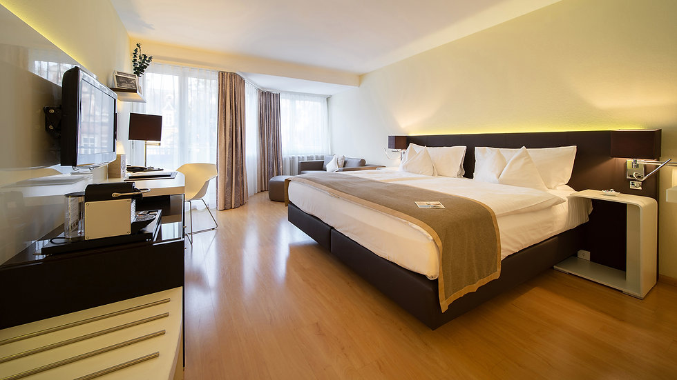 Hotel Spalentor Basel 001 Deluxe Hotel Zimmer deluxe hotel room chambre deluxe de l hôtel