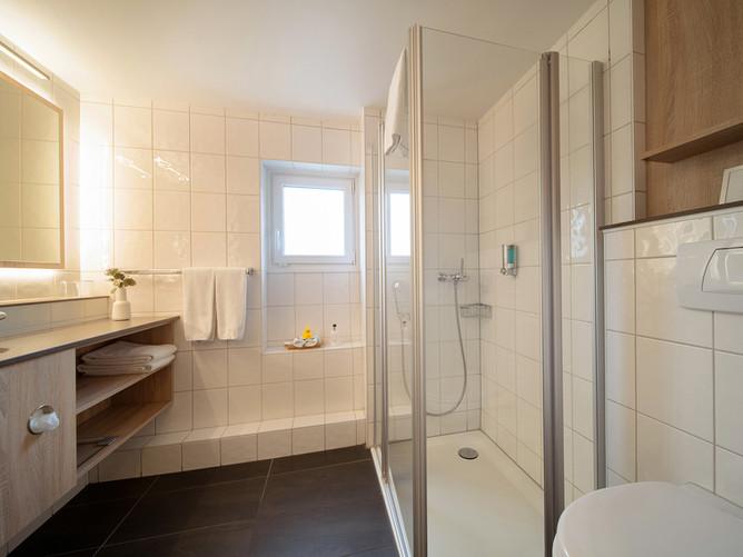 Hotel Spalentor Basel 205 Hotel Junior Suite Badezimmer hotel junior suite bathroom hotel
