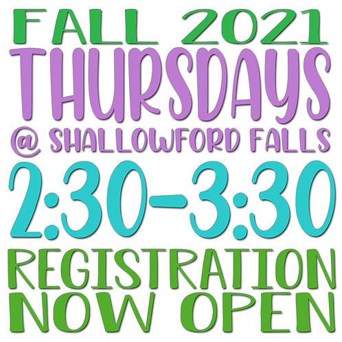 Fall 2021 Thursday @ Shallowford Falls