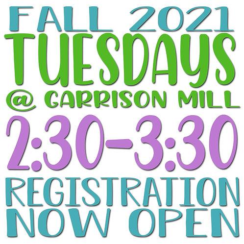 Fall 2021 Tuesday @ Garrison Mill