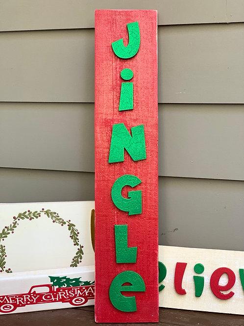Horizontal Jingle Sign