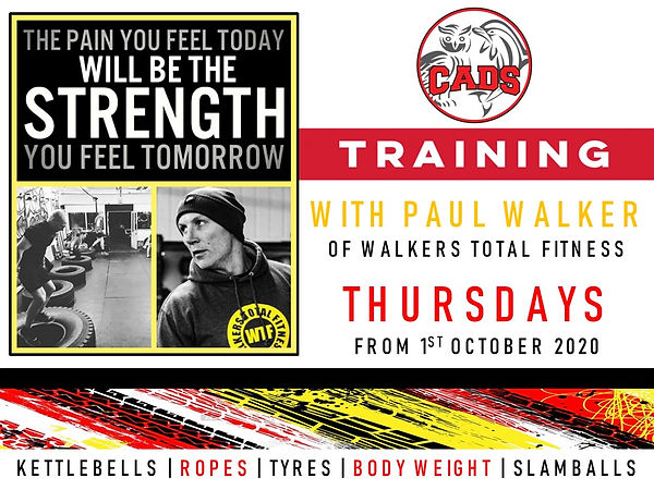 Walker Total Fitness LAND TRAINING - Pos