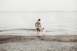 viaje familiar a la costa