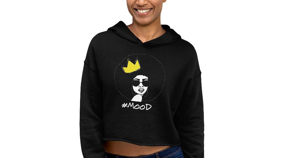 Queen Mood Crop Hoodie