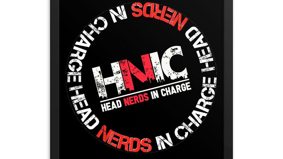 HNIC Framed poster
