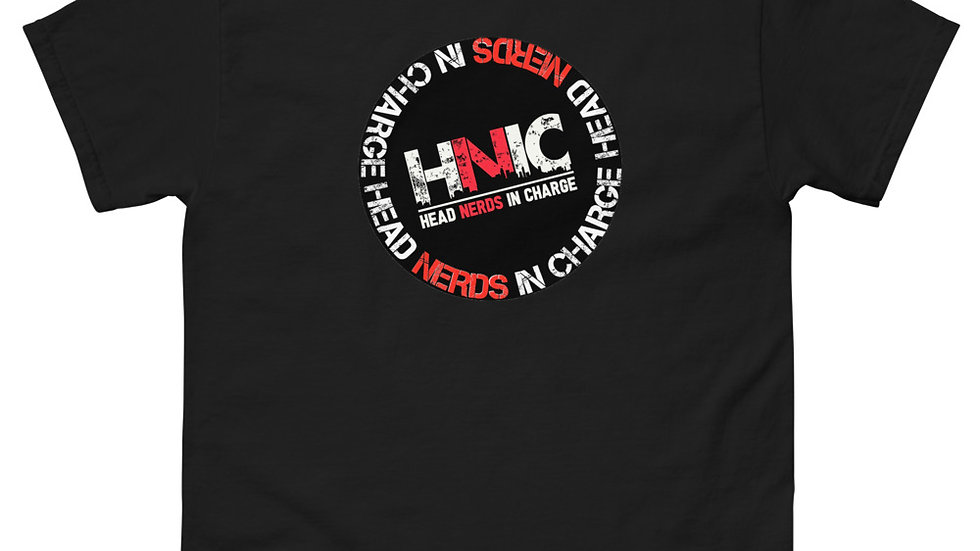 HEAD NERDS IN CHARGE LOGO SHIRT