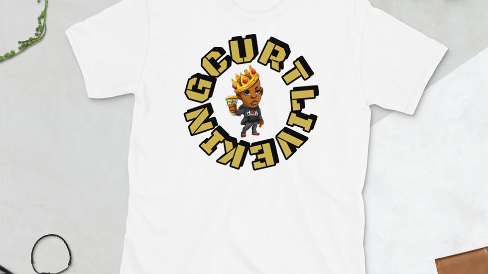 KINGCURTLIVE Short-Sleeve Unisex T-Shirt