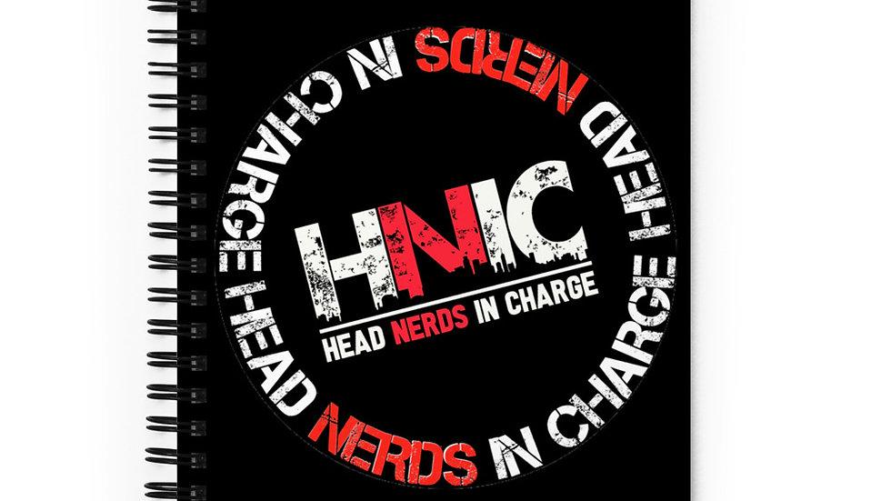 HNIC Spiral notebook