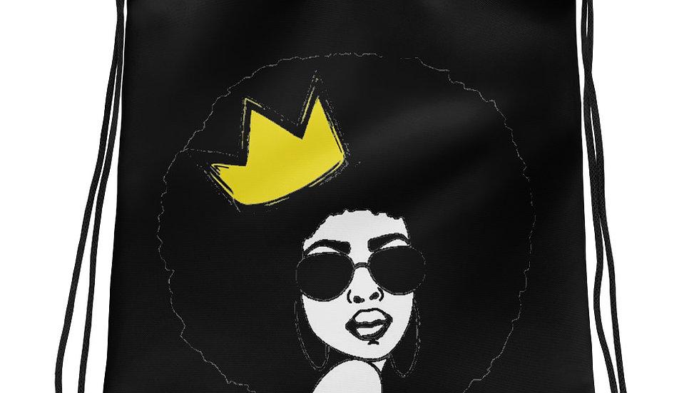 Queen Mood Drawstring bag