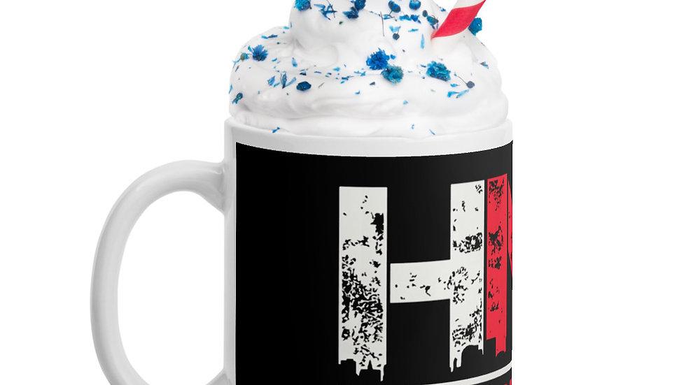 HNIC glossy mug