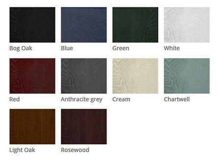 Palldio Composite Door Colour Chart