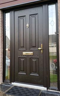 Palladi Georgian Solid Composite Door