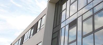 Aluminiun Windows Installd Dublin Offices