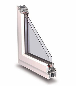 KOMMERLING UPVC C70 GOLD - WHITE