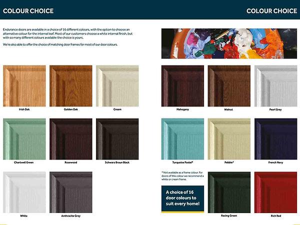 Endurance Colour Selection Composite Door