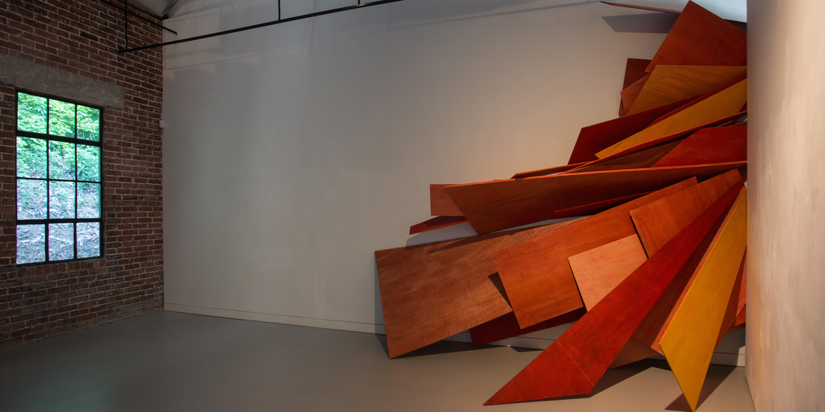 Cutting into different spaces_2015_installation view